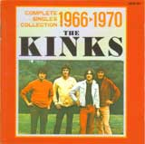 COMPLETE SINGLES COLLECTION 1966-1970 / THE KINKS