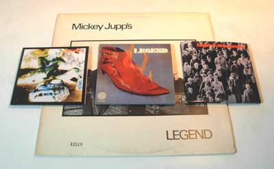 MICKEY JUPP'S LEGEND 紙ジャケット
